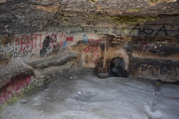 Han yeraltı şehri yok oluyor