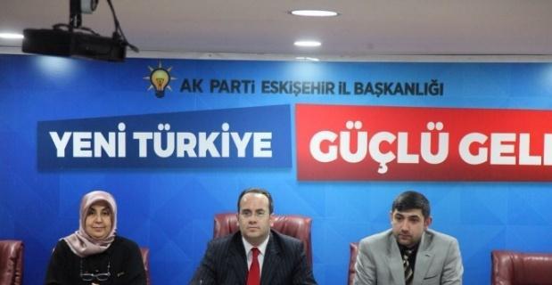 AK Parti Odunpazarı İlçe Yerel Yönetimler Birim Toplantısı
