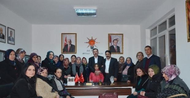 AK Parti Seyitgazi ilçe yürütme kurulu toplantısı yapıldı