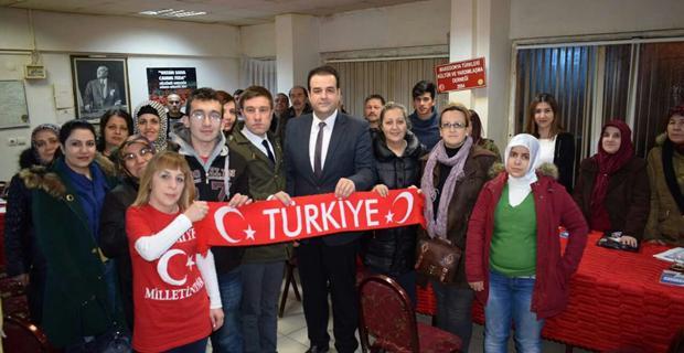 AK Parti Tepebaşı ilçe Başkanı mahallerde