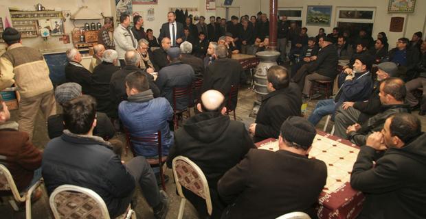 Başkan Özkar Bozan'lılarla buluştu