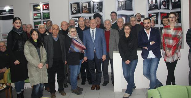Çakırözer Kafkas Derneğinin 50'nci yılını kutladı