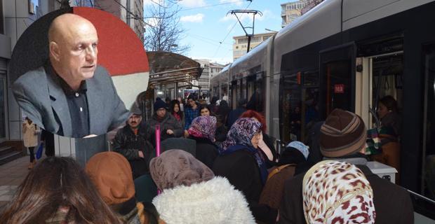 Eskişehirlilerin tramvay çilesine DP'den çözüm önerileri