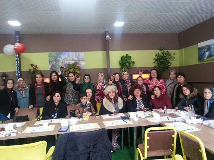 MHP'li kadınlardan birlik yemeği