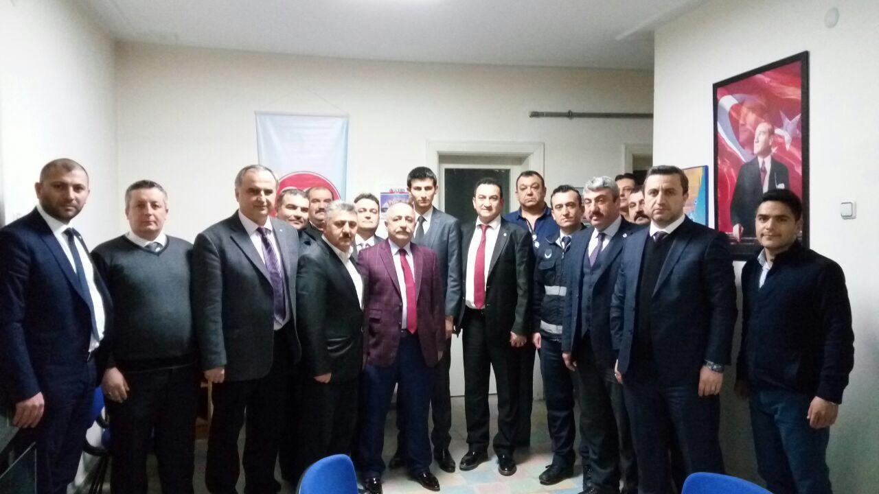 Milliyetçi Hareket Partisi'nden Türk Yerel Hizmet Sen'e ziyaret
