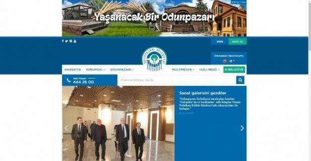 Odunpazarı Belediyesi'nin resmi web sitesi yenilendi