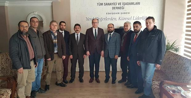 AK Parti'den TÜMSİAD'a Hayırlı Olsun Ziyareti