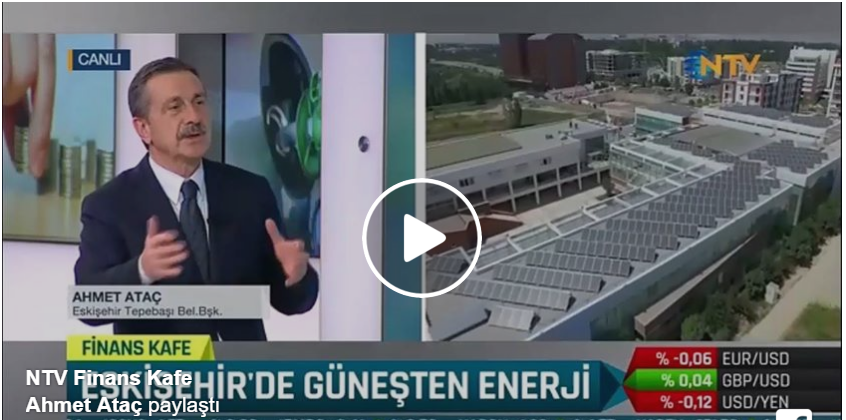 Ataç, NTV'de canlı yayında  dev AB projesini anlattı