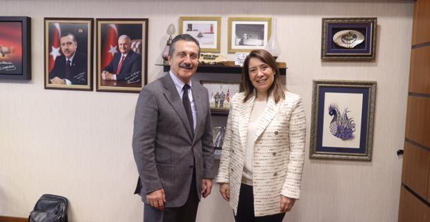 Ataç projelerini Milletvekili Günay'a aktardı
