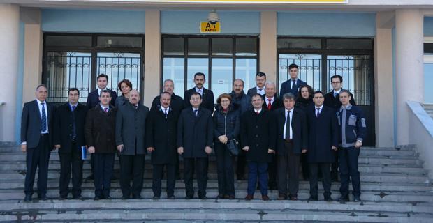 Azeri Heyet'ten Sabiha Gökçen'e ziyaret