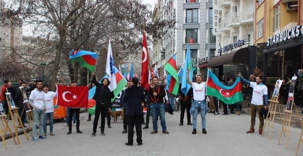 Eskişehir Orhun Türkçüler Derneği Hocalı'yı unutmadı