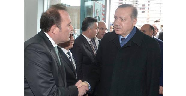 Harun Karacan, Erdoğan ile görüştü