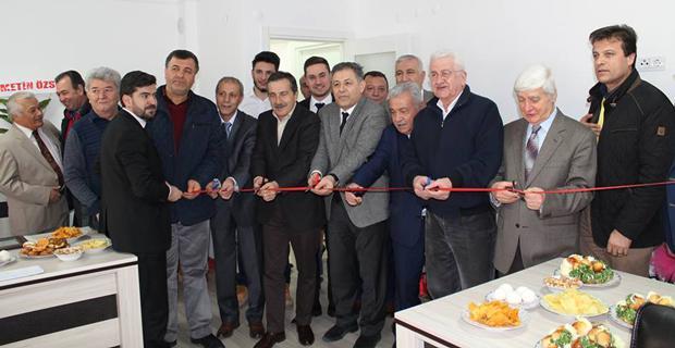 Hukuk bürosunu başkanlar açtı