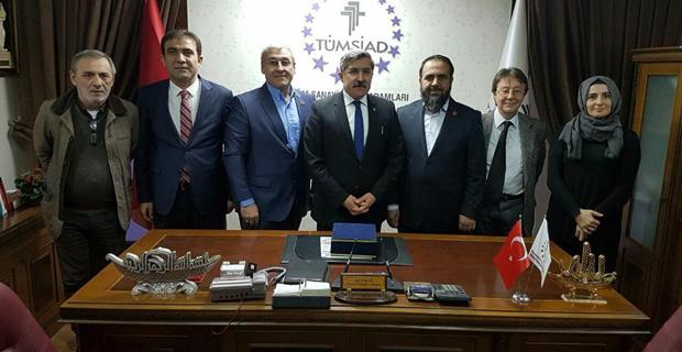 Kardeşlik Platformu TÜMSİAD'da yapıldı
