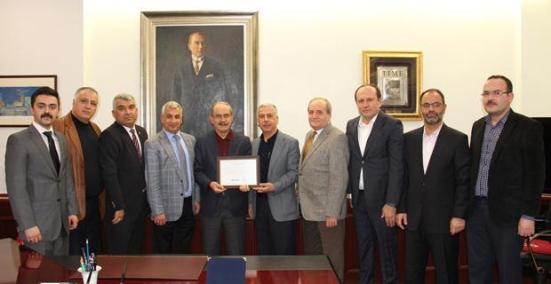 MÜSİAD Yeni Yönetiminden Büyükerşen'e Ziyaret