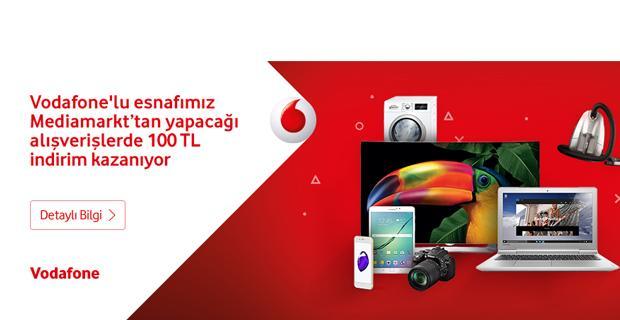 Vodafone'lu esnafa indirim