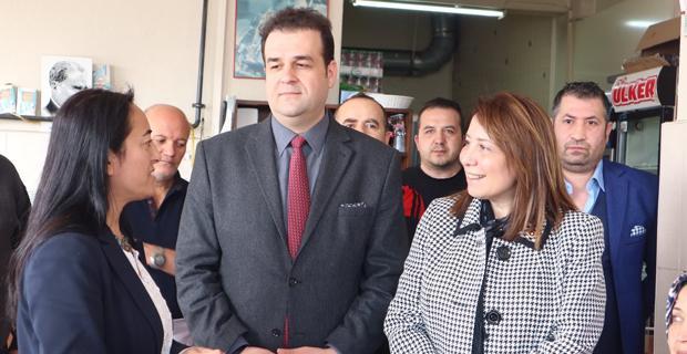 AK Parti Tepebaşı referandum çalışmalarını sürdürüyor