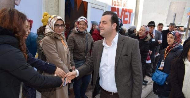 Güçlü Türkiye için yollardayız
