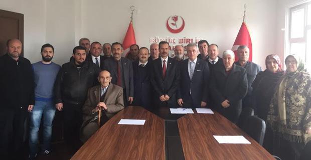 BBP'de Odunpazarı'nda Şaban Bozbal başkan
