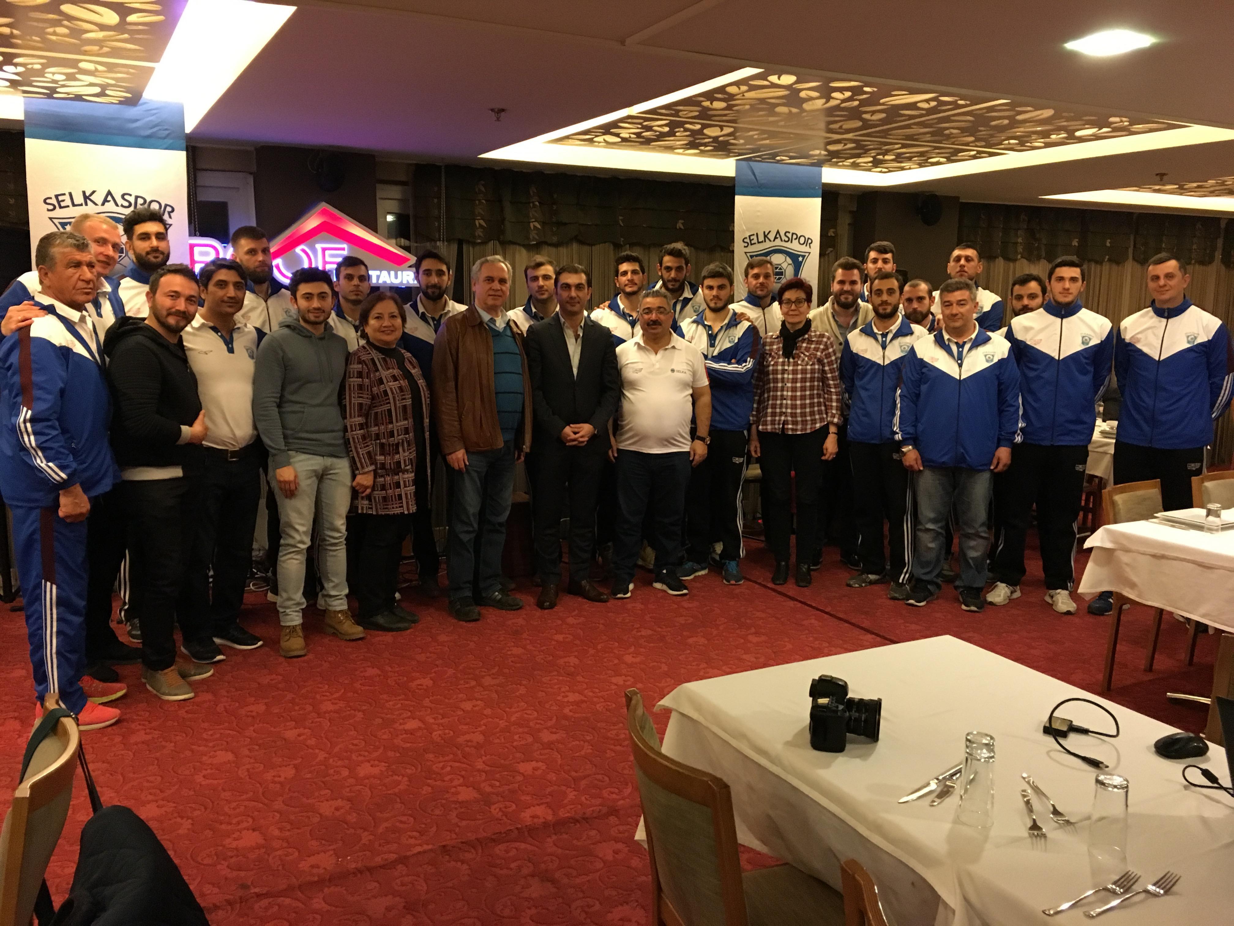 İnşaat Mühendisleri Odası'ndan Selkaspor'a Destek
