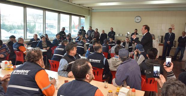 Karacan, İşçilerle Buluşmaya Devam Ediyor