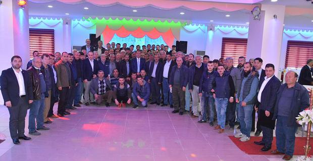 Karacan, Taşıyıcılar Kooperatifi Üyeleriyle Buluştu