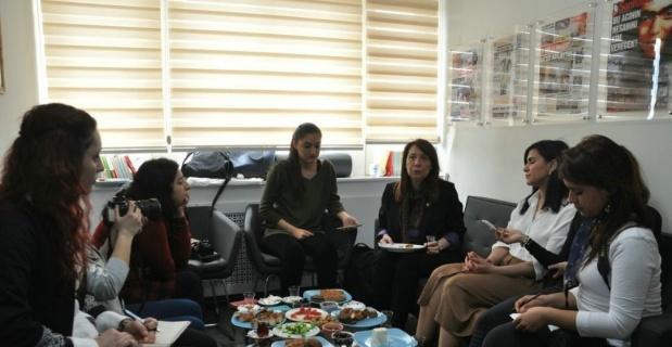 Milletvekili Emine Nur Günay Başkan Kurt'a teşekkür etti