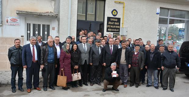 Tepebaşı Ziraat Odası Üyeleri İstiklal ve İstikbal İçin Evet Diyor