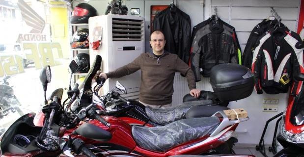 Eğitimini almadan motosiklete binmek intihar girişimidir