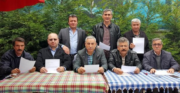 MHP'de  istifalar başladı