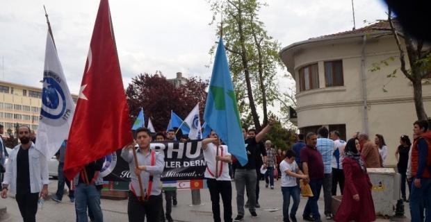 Türkçülük Günü'nün 72. yıldönümü için yürüdüler