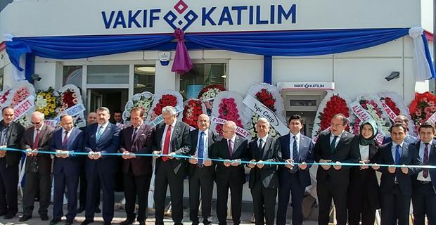 Vakıf Katılım Eskişehir şubesini açtı