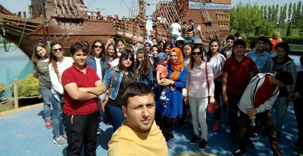 Adana'dan gelen öğrenciler hayran kaldı