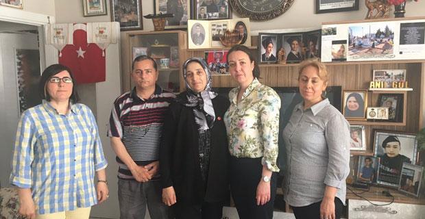 Ak Parti Kadın Kolları şehit annelerini unutmadı