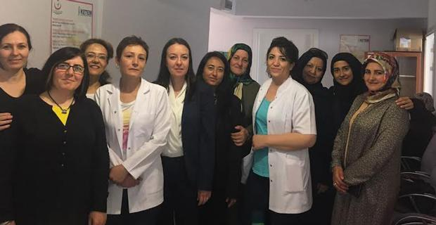 AK Partili Kadınlar kanser taraması yaptı