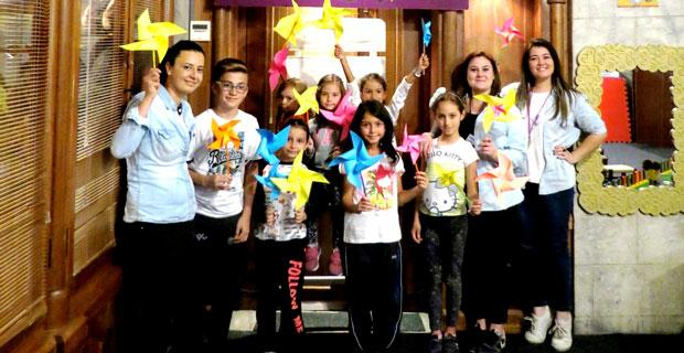 Çocuklar için masal Şatosu'dan Hafta sonu atölyeleri