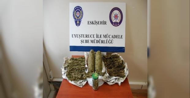 Eskişehir polisinin yıl içindeki uyuşturucu ile mücadele çalışması