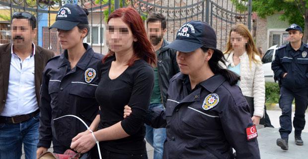 Eskişehir'de adliyeye çıkarılan PKK/KCK üyesi şüphelilerinden 6'sı tutuklandı