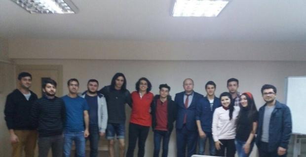 Eskişehir'deki Azerbaycanlı öğrenciler için 'kişisel gelişim' semineri