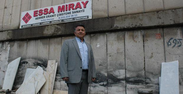 Essa Miray mermerde hayal gücünün sınırlarını zorluyor