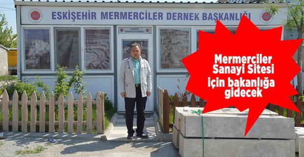 Mermercilerin Eskişehir'e katkısı çok, sanayi sitesi yok