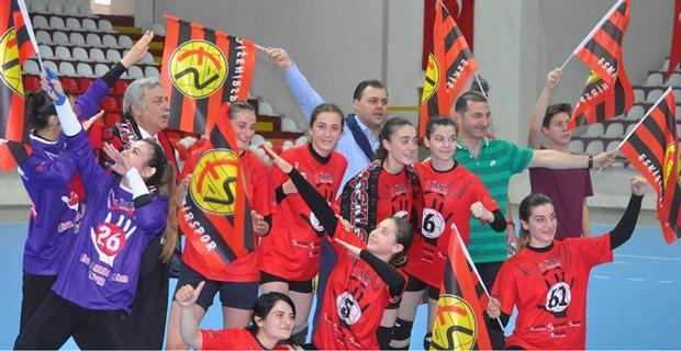 Şimşek Kızlar Türkiye Şampiyonu
