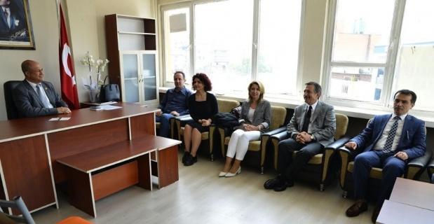 Başkan Ataç'tan muhtarlar birliğine ziyaret