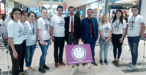 BBP'li Bozbal'dan SMA hastalarına destek