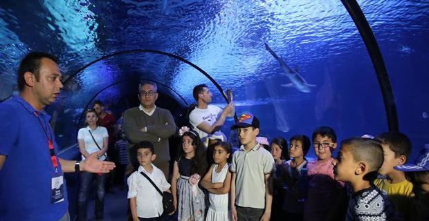 Çocuklara Okyanusların önemi anlatıldı
