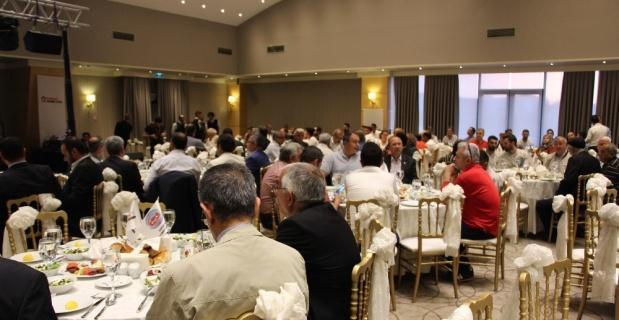 Emlak Komisyoncular Odası üyeleri iftar yemeğinde bir araya geldi