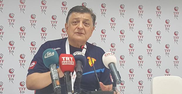 """""""Eskişehirspor'a geçmiş olsun diyorum"""""""