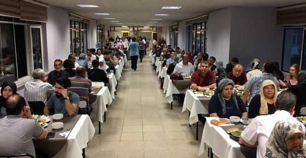 ESOGÜ'de iftar programı