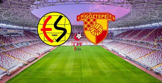 Göztepe-Eskişehirspor karşılaşması öncesinde yoğun güvenlik önlemi alındı