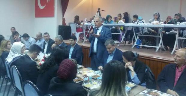AK Parti'den Mahmudiye'de iftar yemeği